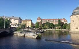 Örebro von unten – beim Spaziergang