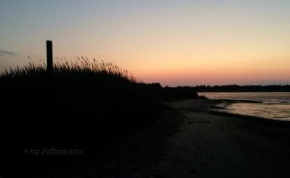 Und weils so schön ist: ein Rømø-Sonnenuntergang, der letzte skandinavische für diesmal.