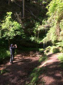 Irgendlink fotografiert den Wasserfall